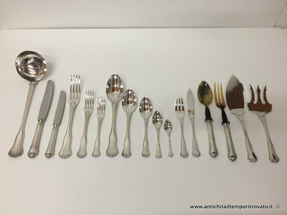 Riconoscere le posate - Le forchette - Maison Galateo