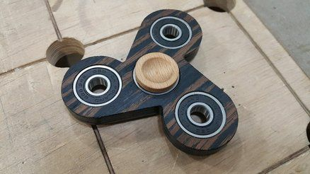wooden fidget spinner lumberjocks projects pinterest. Black Bedroom Furniture Sets. Home Design Ideas