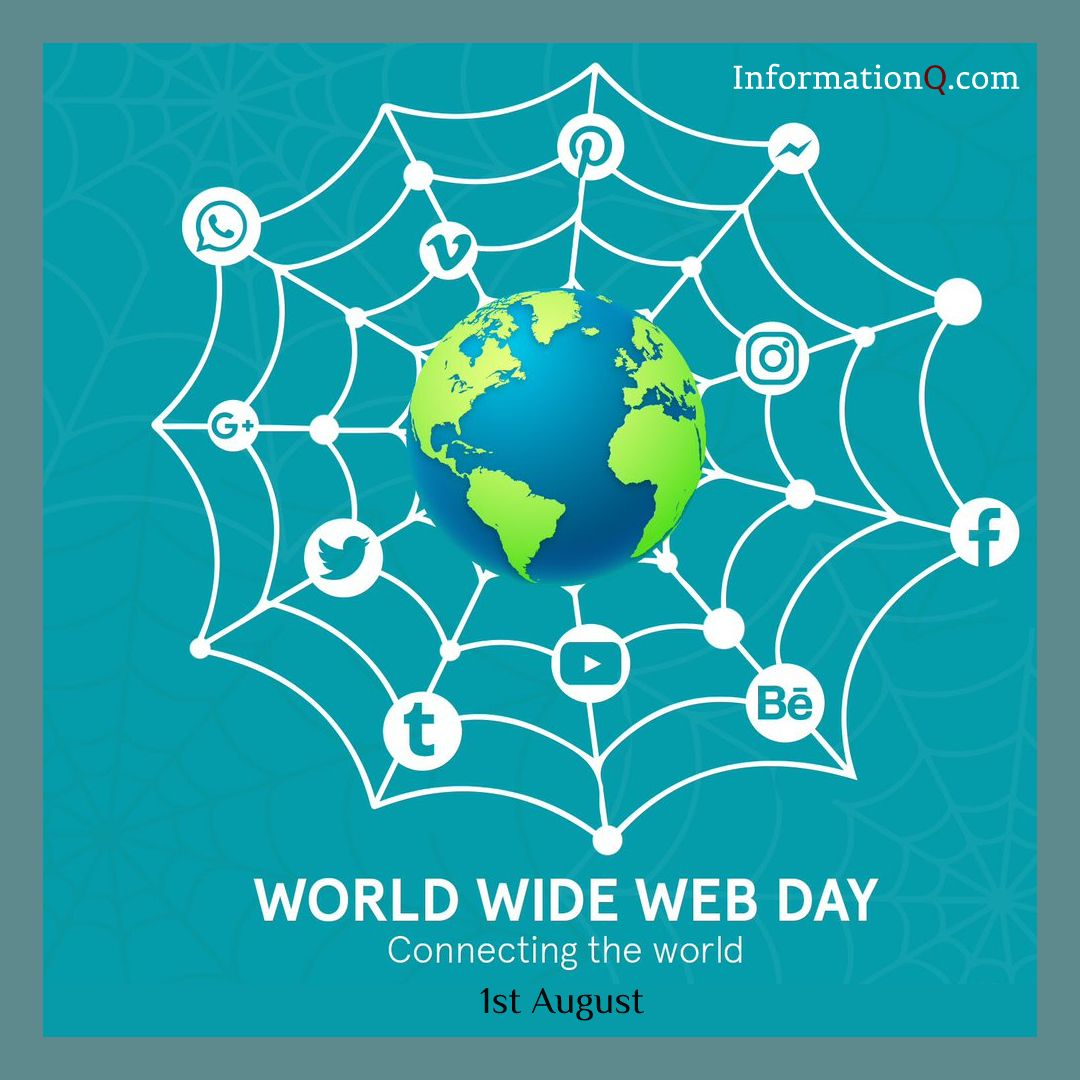 World Wide Web Day On 1st August World Wide Day
