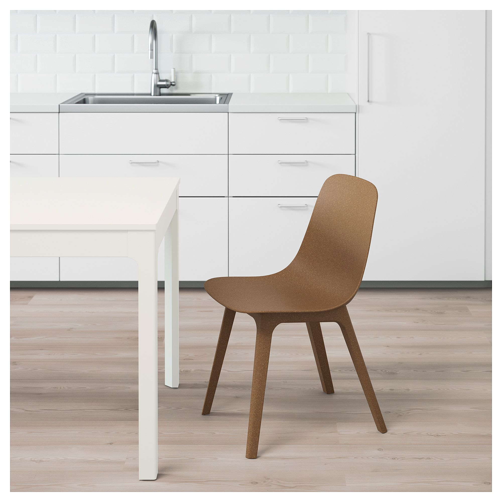 Ikea Odger Chair Brown Products In 2019 Retro Dining