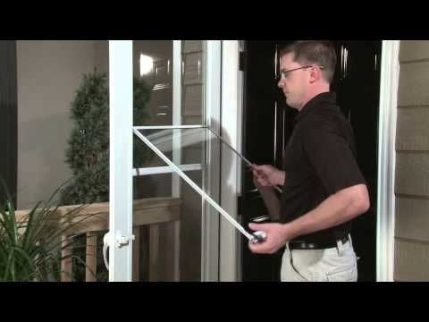 How To Remove Glass For Cleaning Larson Doors Larsondoors Stormdoors Larson Storm Doors Cleaning Household Storm Door