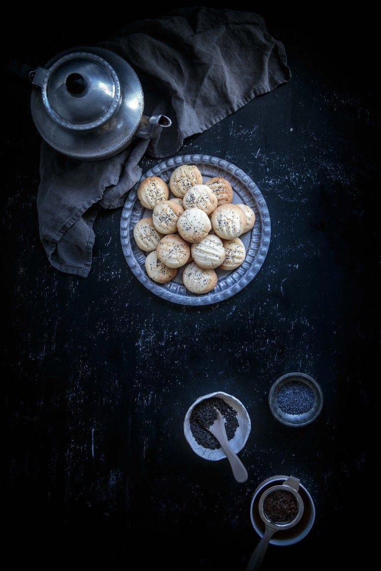 Persian cardamom rice flour cookies anisa sabet the
