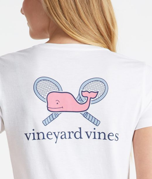 Tennis Whale Tee Fashion Tennis Shirts Tennis Tennis Wear