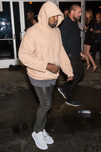 a5b409945edf3 Celebrities Wearing Yeezy Boost Sneakers  Kanye West