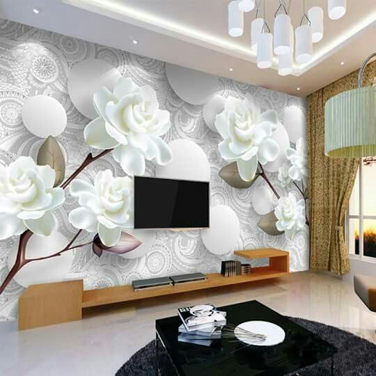 I Love This Wall Mural Modern Wallpaper Designs Wallpaper Interior Design Modern Wallpaper