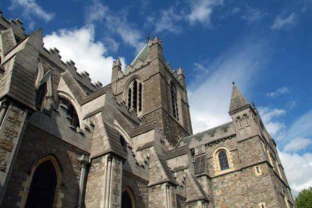 La belleza medieval de Dublín en Los Tudors