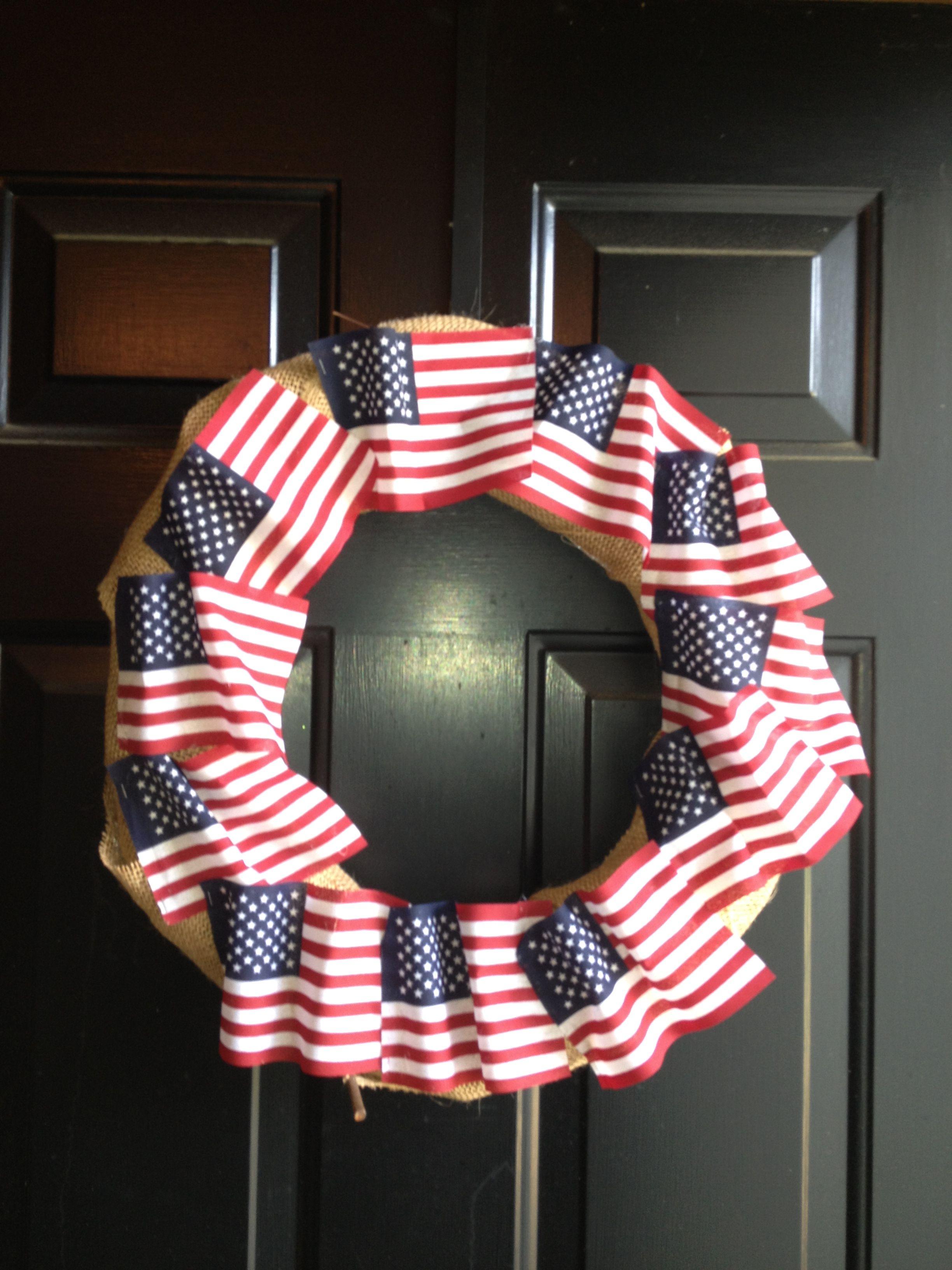 My 4th of July Wreath!! V G