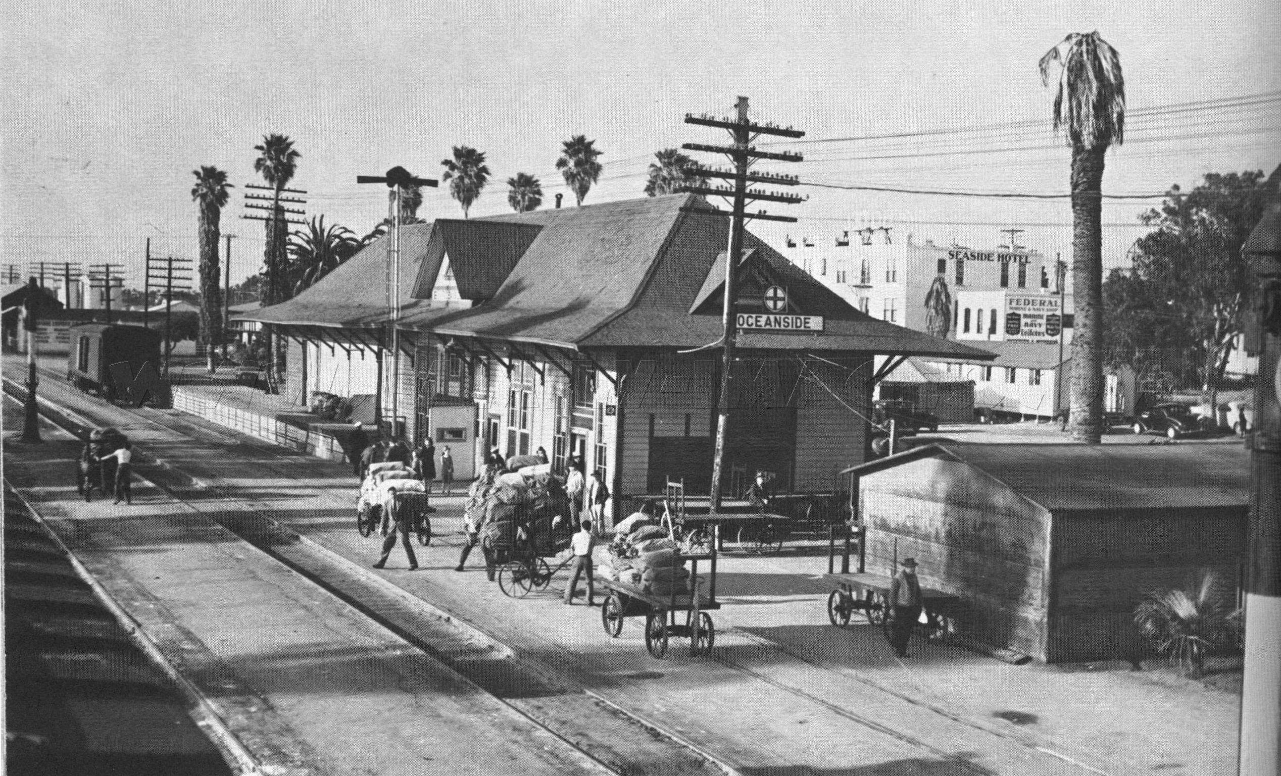 Ca oceanside 1890s railroad stationjpg 25361537