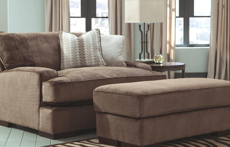 Fielding Oversized Chair And Ottoman Ashley Furniture Homestore In 2020 Oversized Chair And Ottoman Furniture Ashley Furniture