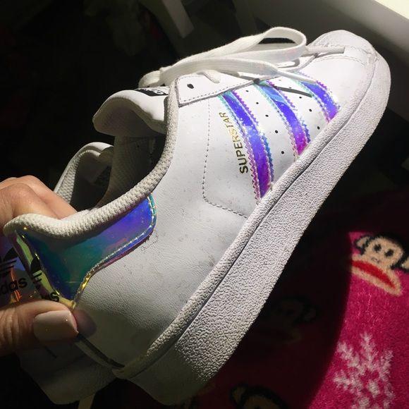 adidasshoes$29 on   Holographic fashion, Holographic jacket