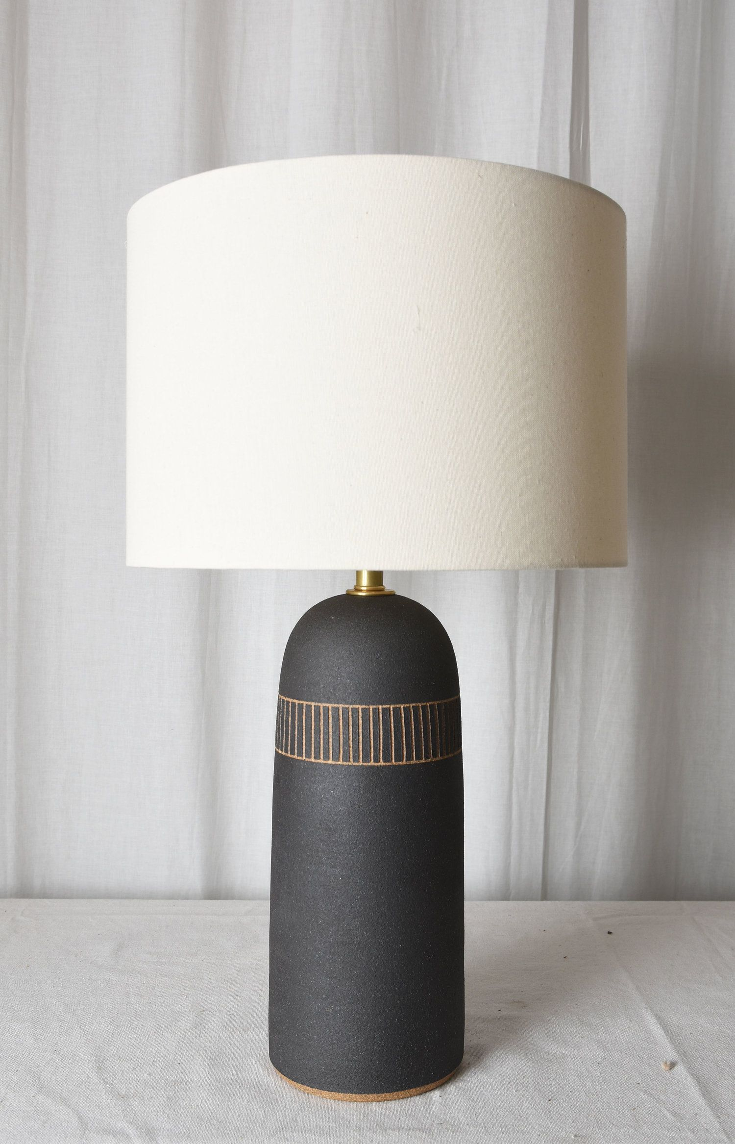 Tall Etched Lamps Mmhp Ceramics In 2020 Tall Table Lamps Lamp