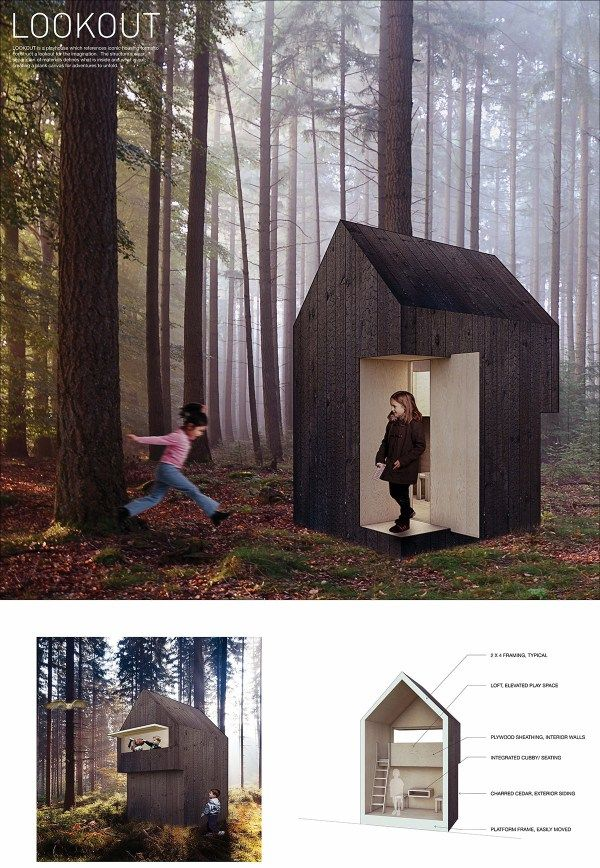 2016 Winner Life Of An Architect Playhouse Design Competition