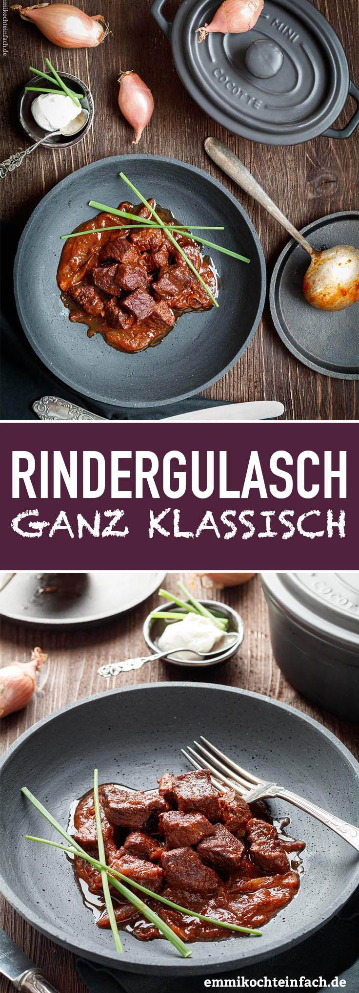 Klassisches Rindergulasch #gulaschrezept
