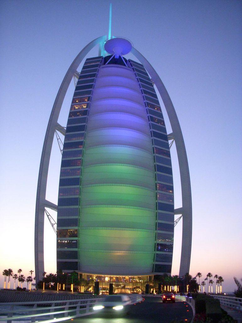 Burj al Arab Hotel at dusk - Dubai | Dubai Things to Do ...