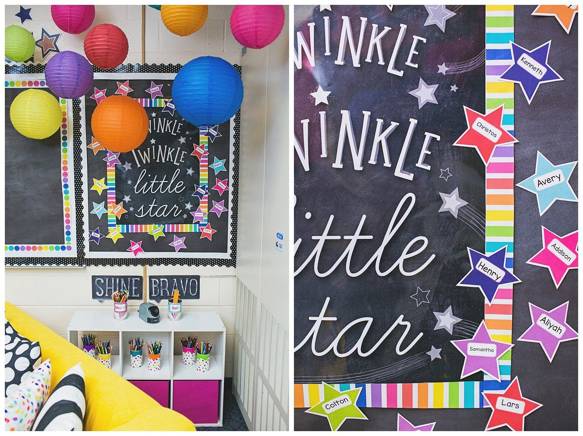 Classroom Decor Stars ~ Twinkle you re a star reveal schoolgirlstyle