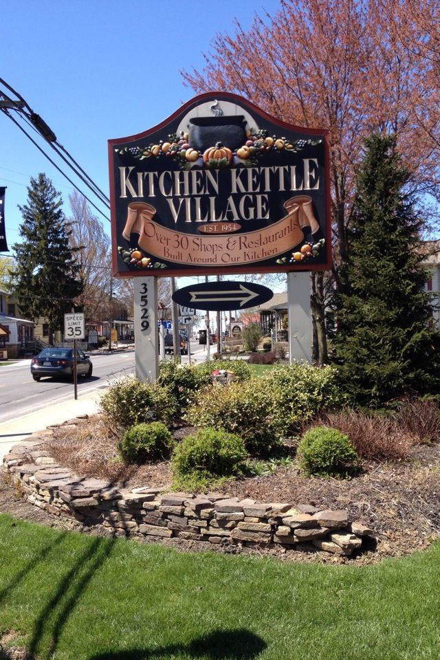 Kitchen Kettle Village Village Pennsylvania Travel Dream Weekend