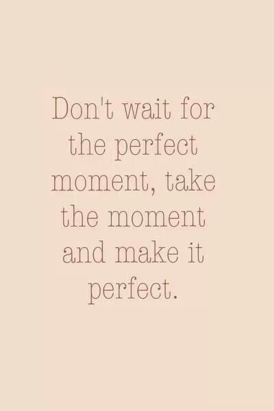 This is the moment...!