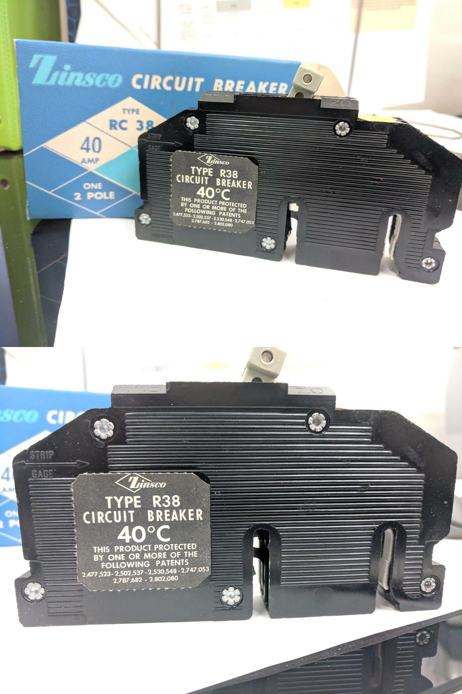 circuit breakers and fuse boxes 20596 zinsco circuit breaker 40 amp  zinsco fuse box #12