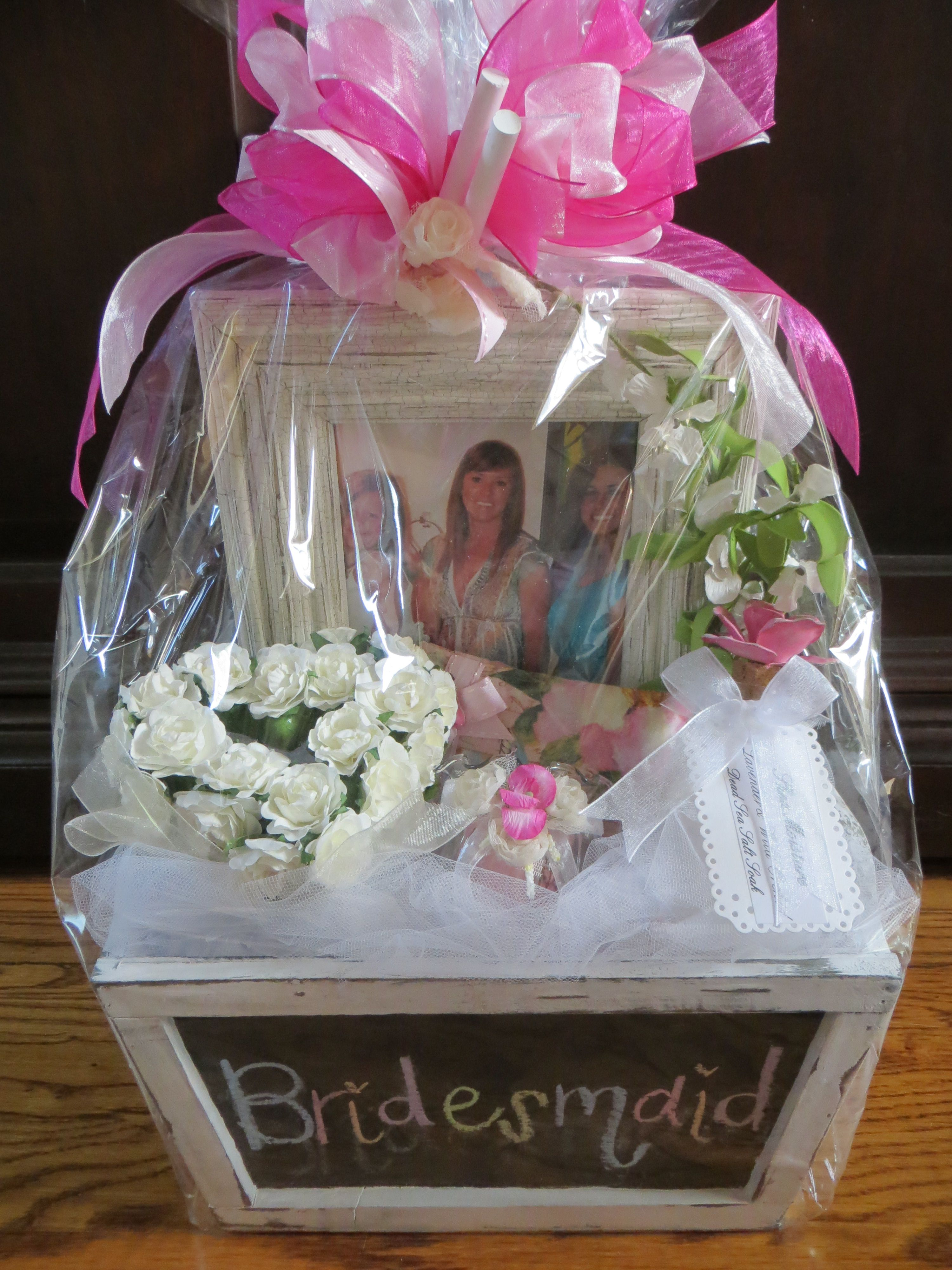 Will You Be My Bridesmaid Gift Basket; Each Gift Was