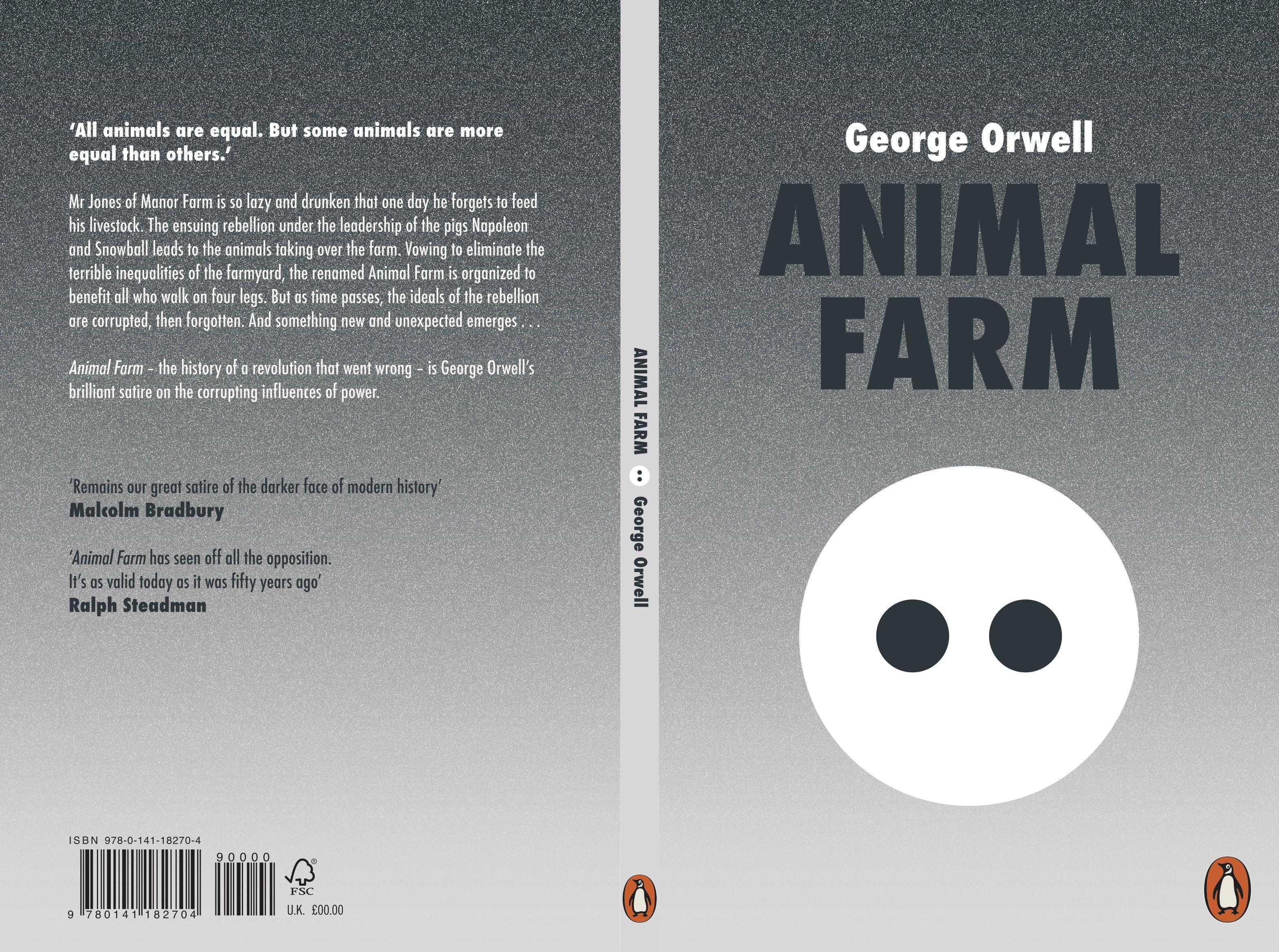 Animal Farm Book Cover Design By Raemarie Lee Book Cover Design Book Design Penguin Books Covers