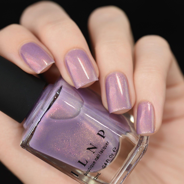Lilac Nail Color: Lilac Bridges Lilac Shimmer Nail Polish