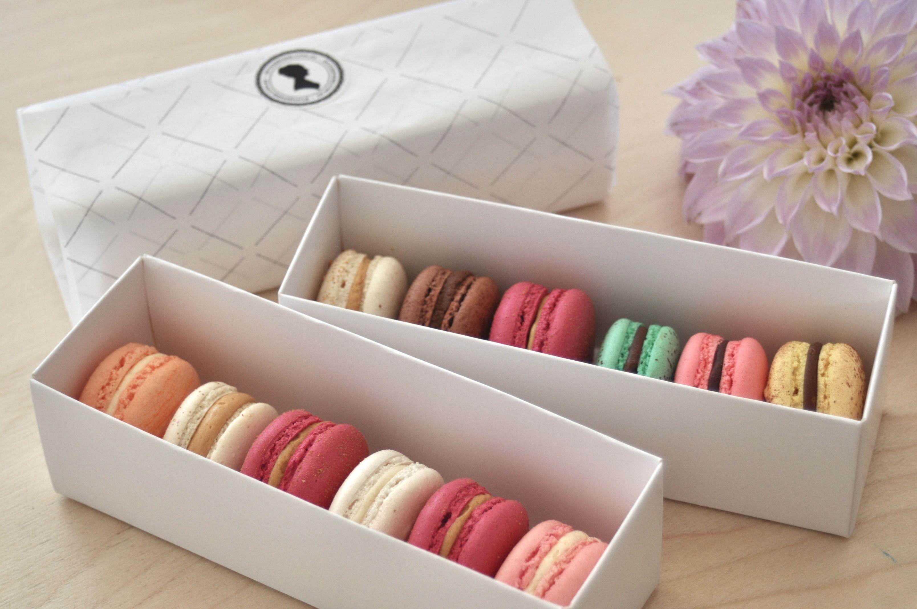 Macarons Box - By Josephine
