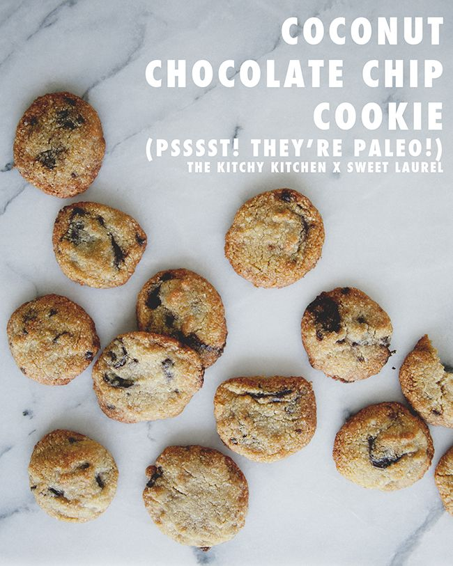 COCONUT CHOCOLATE CHIP COOKIES | The Kitchy Kitchen