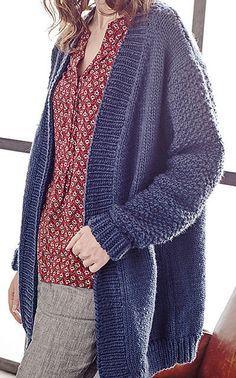 fab8cc393a7c Free Knitting Pattern for Tyburn Cardigan