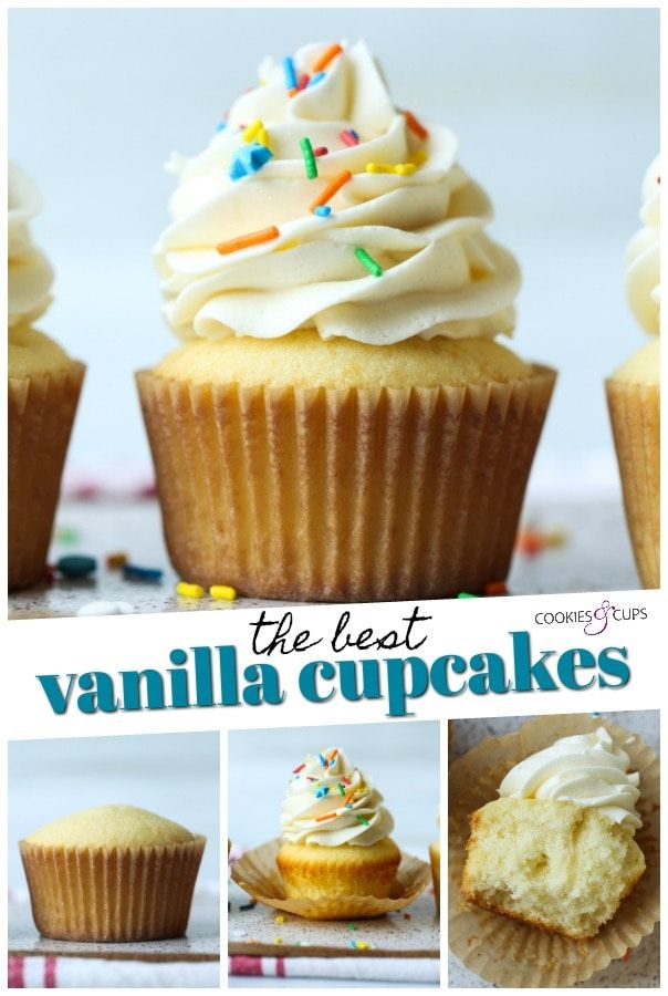 My Favorite Vanilla Cupcakes