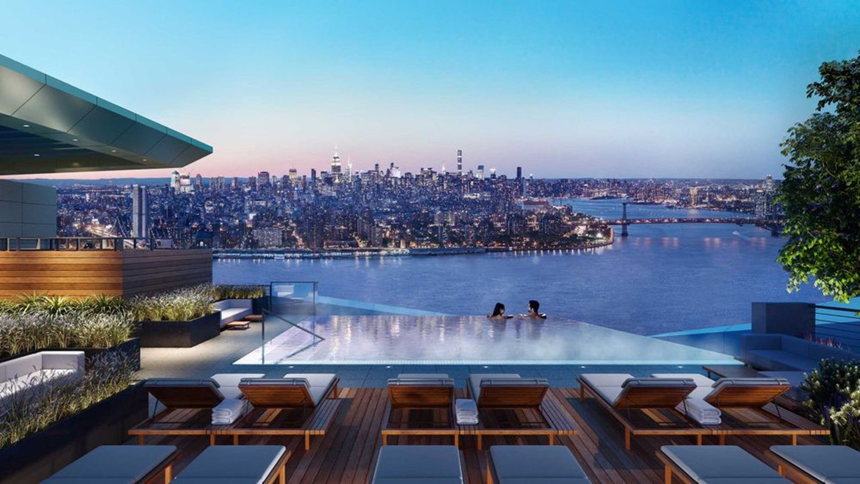 How The Infinity Pool Became A Social Media Status Symbol Rooftop Pool Residential Pool Pool