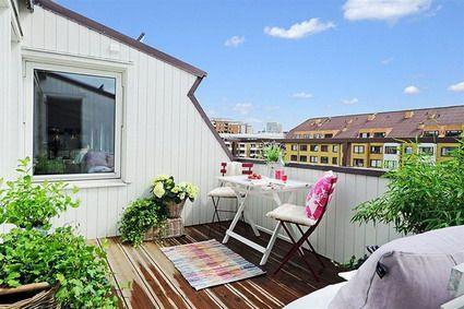 como decorar una terraza de atico