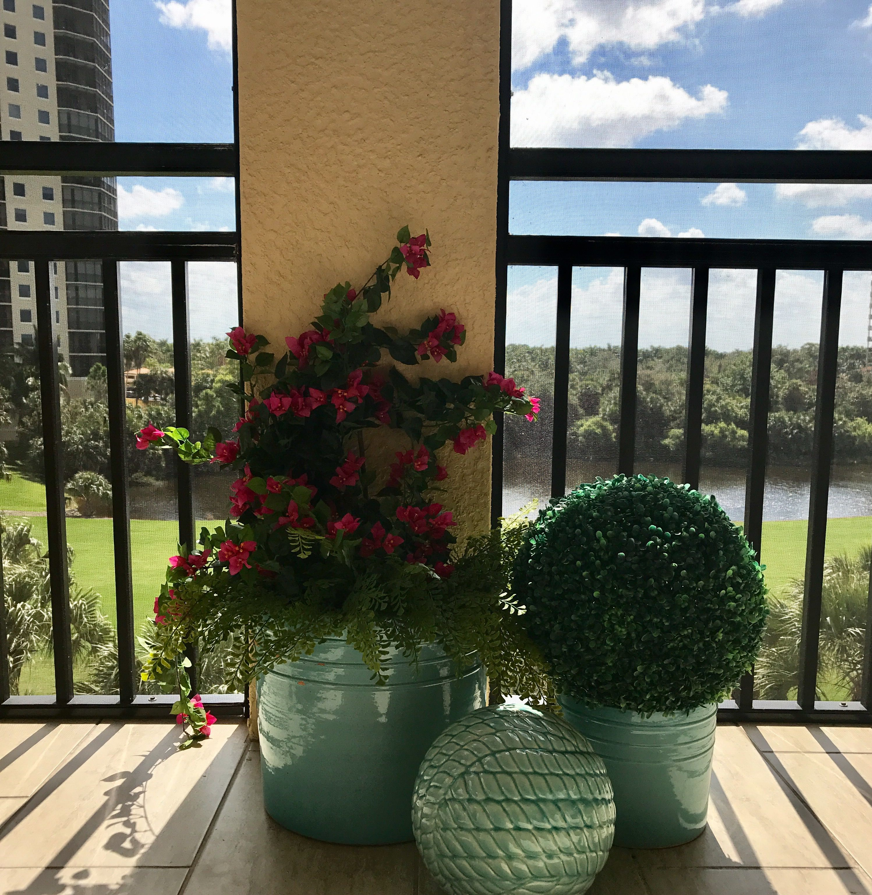 A key factor in using outdoor artificial plants is using them in a