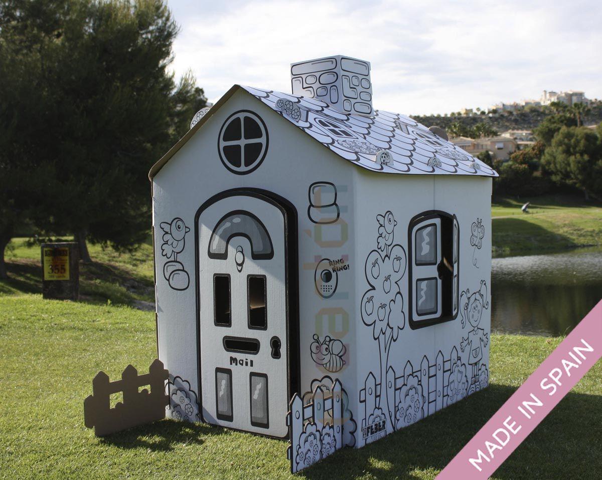 Casitas de ni os con carton buscar con google jardin for Casitas para ninos