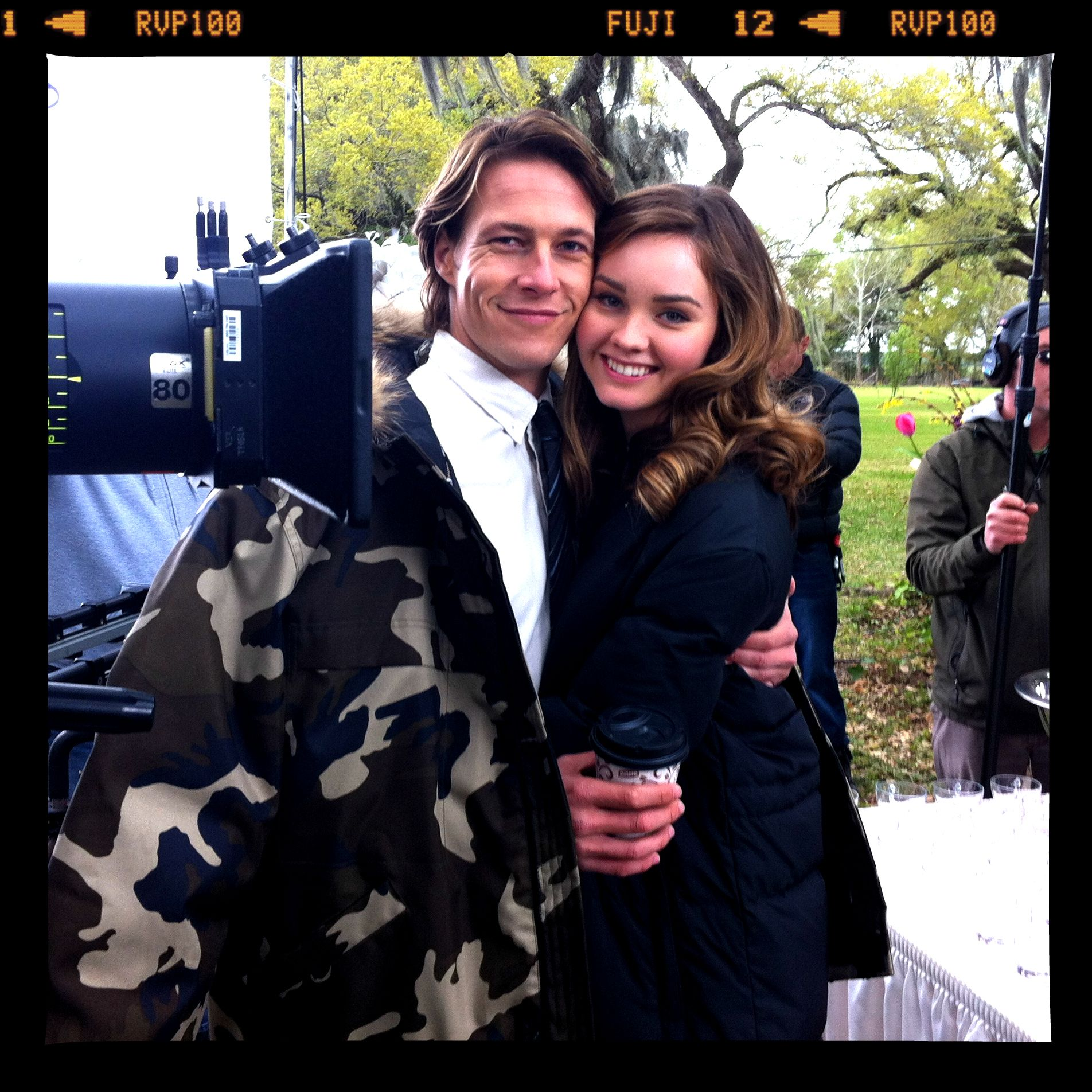 Check out our exclusive first look at Luke Bracey and Liana Liberato (young Dawson and Amanda) on the set of #TheBestofMe!