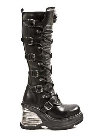 0bd8c4fabc5 New Rock M.8272-S1 Boot in 2019 | OMG shoes | New rock boots, Shoe ...