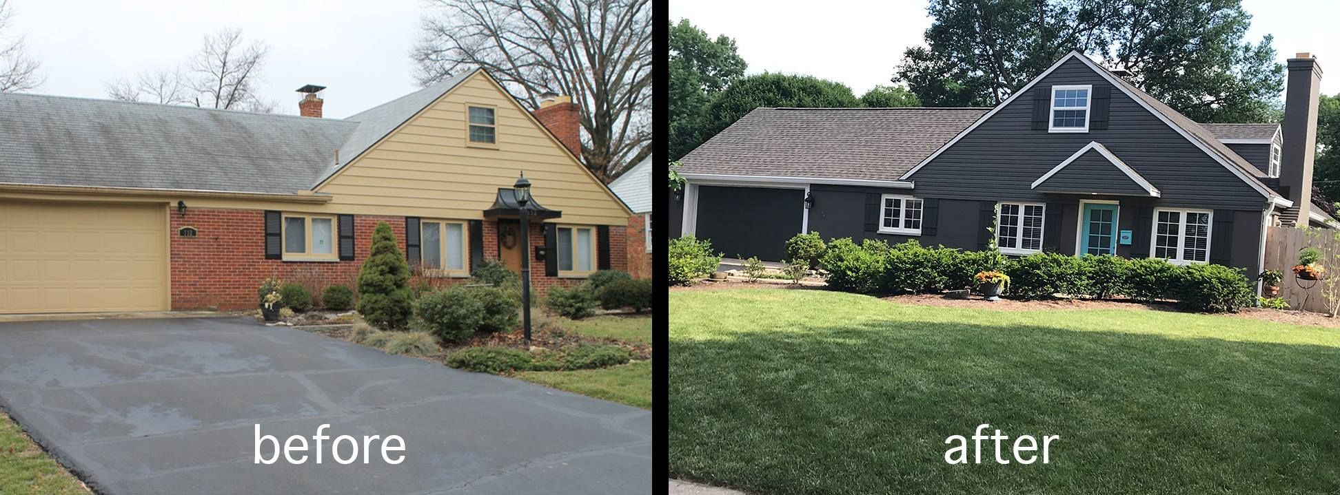 Before and after of Home Update in 2020 Remodeling