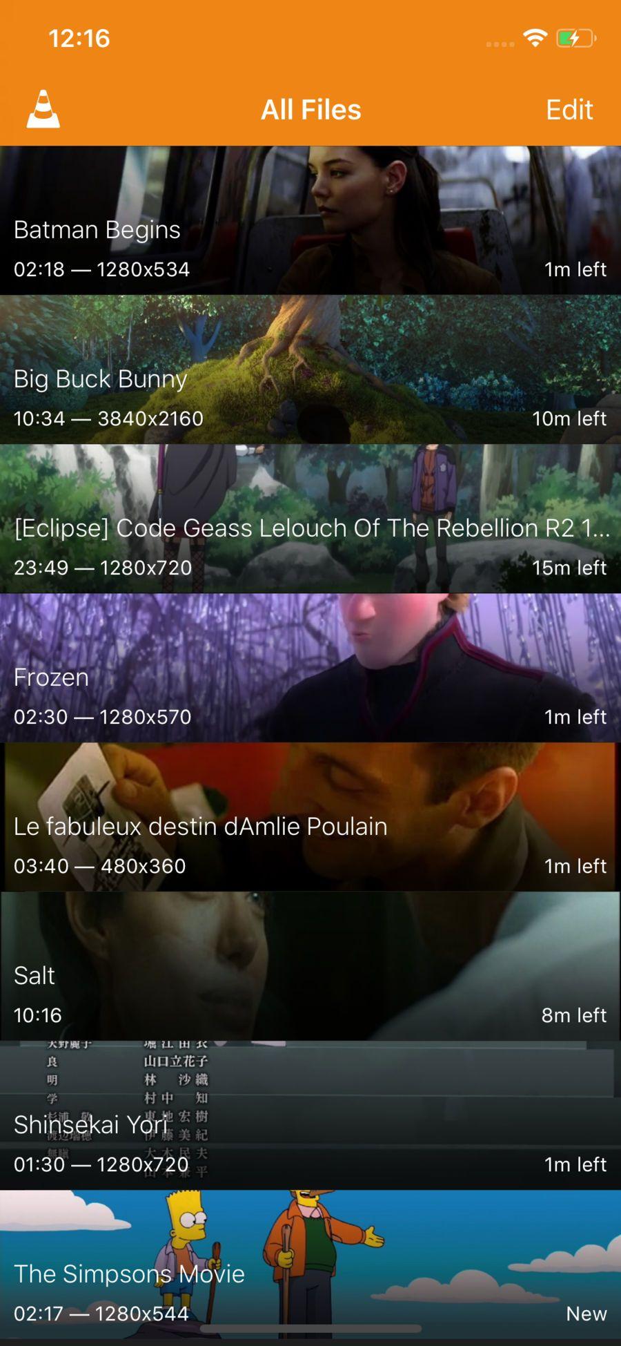 VLC for Mobile EntertainmentVideoappsios Video app