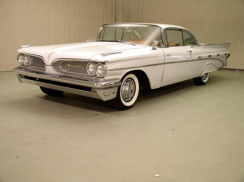 1959 Pontiac Bonneville Clic Car Price Guide