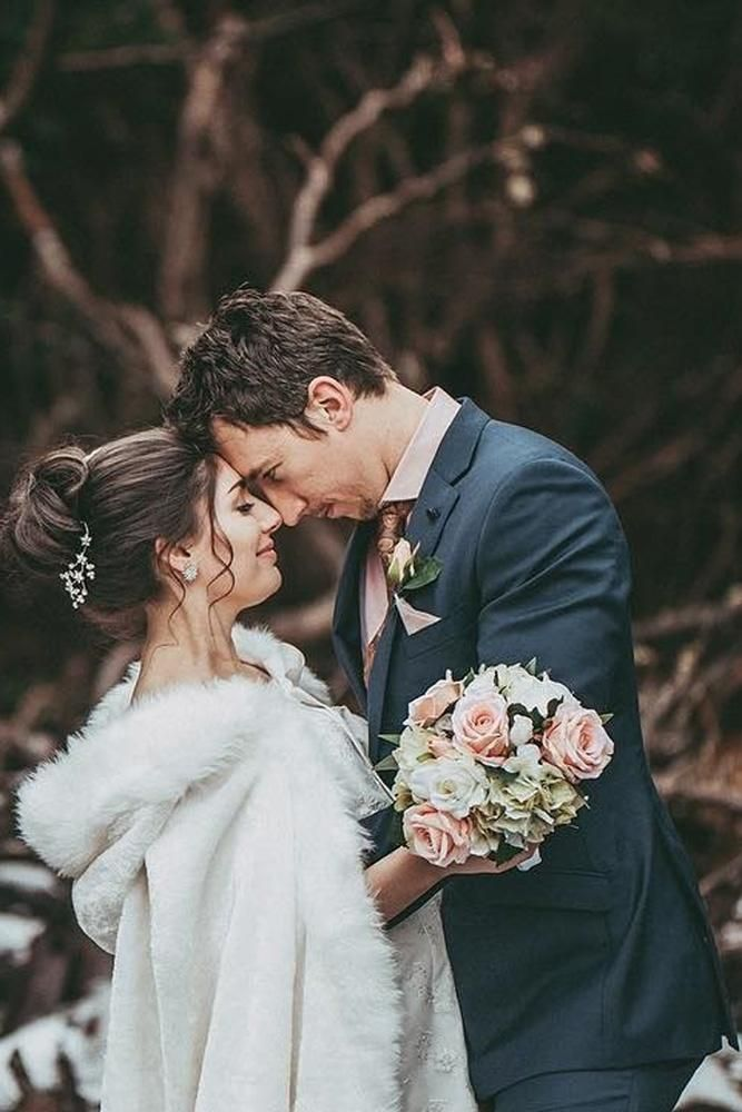 You Have To See These Winter Wedding Photo Ideas ...