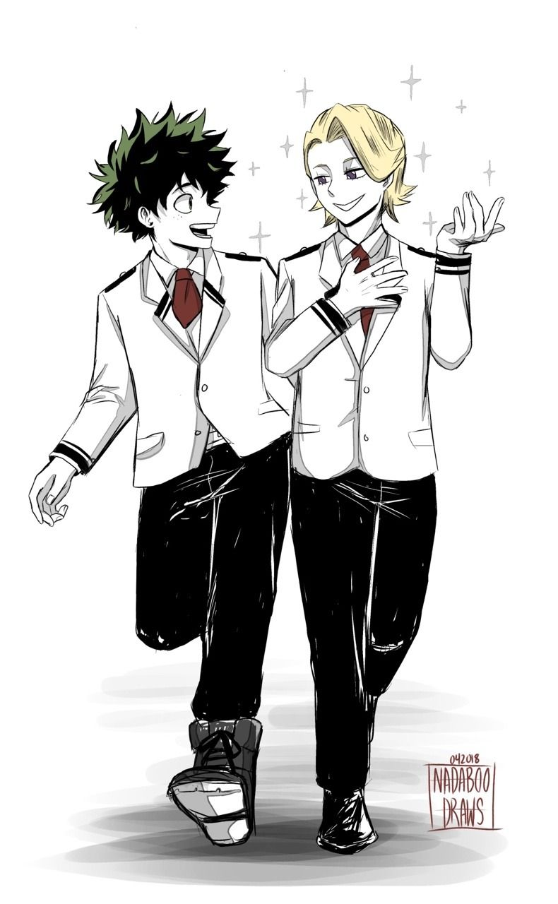 Hello — Deku's and Aoyama's friendship~ (remember 168)     | My Hero