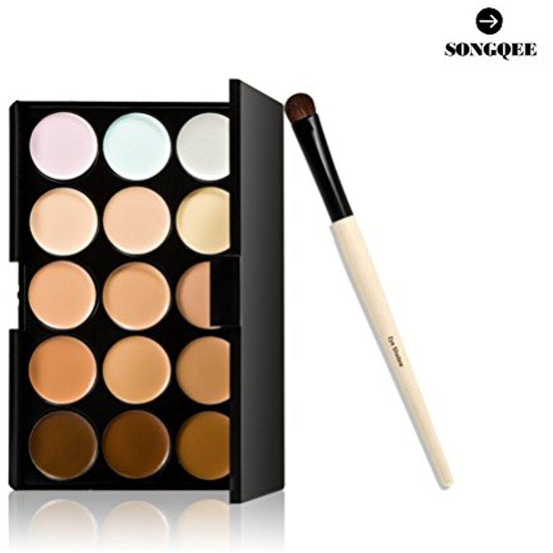 SONGQEE(TM) 15 Colors Contour Face Cream Makeup Concealer