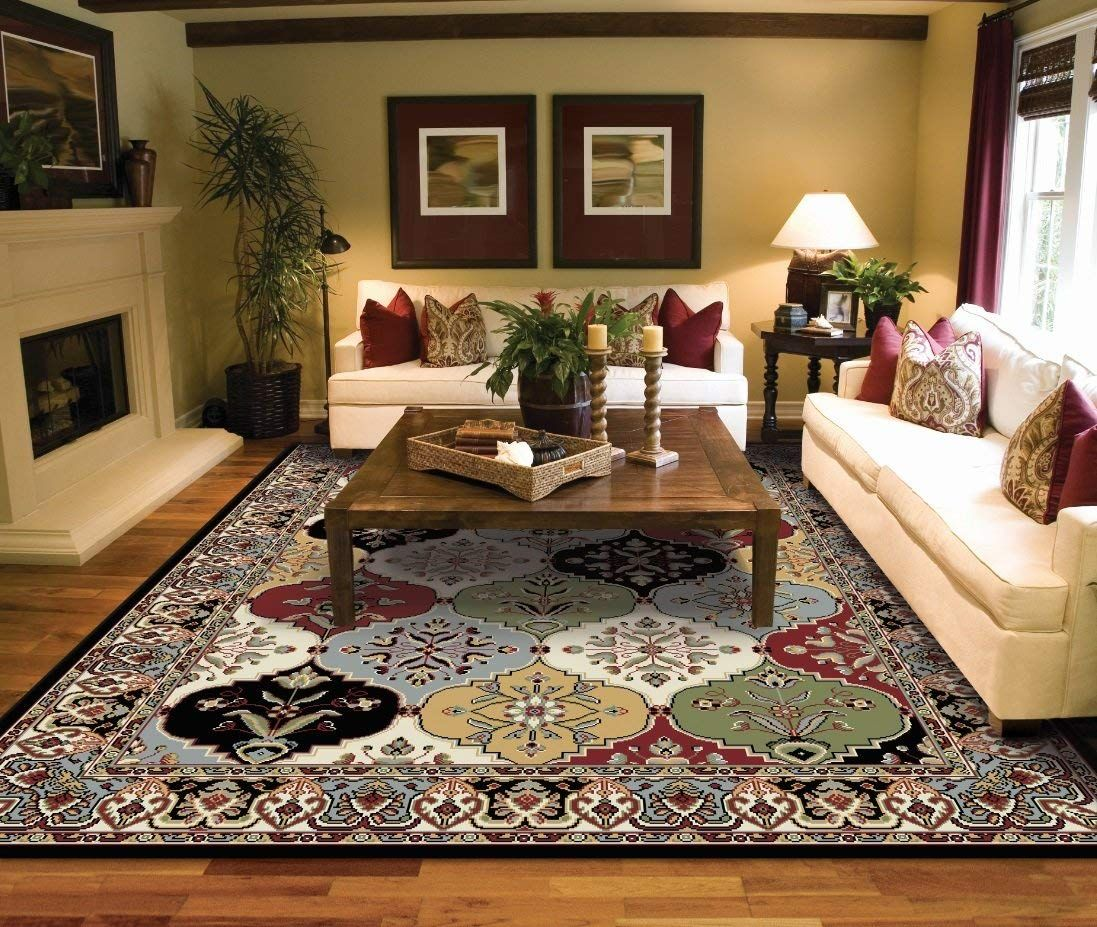 Large Rugs For Living Room 8x10 Traditional Clearance Area Rugs