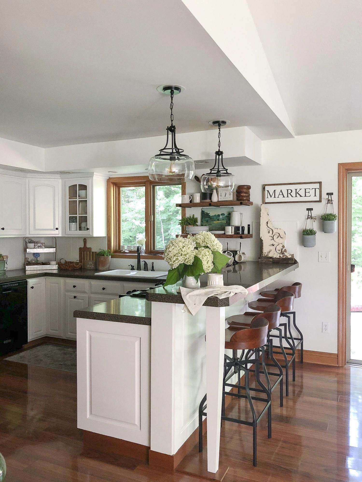 Kitchen Remodel on a Budget #kitchenremodelideas