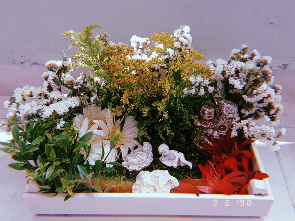 #çiçek #aranjman #diy #kendinyap #flowers #kasımpatı