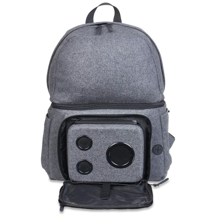 : Backpack Cooler with 15 Watt Bluetooth Speakers