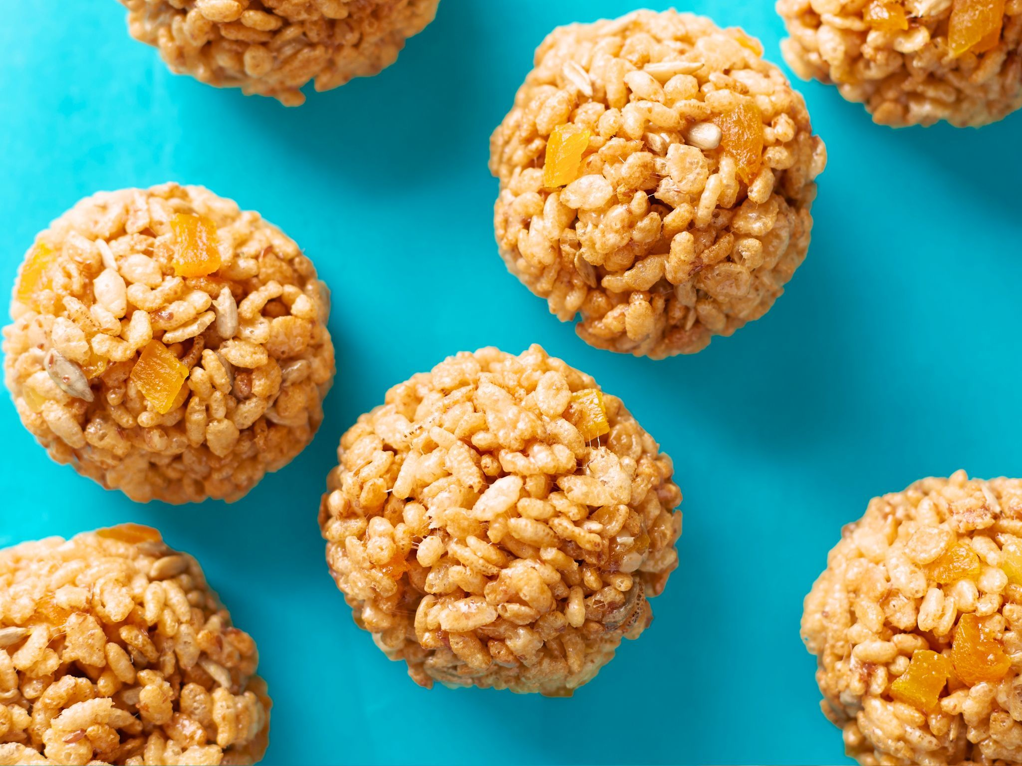 Kids can make puffed rice snowballs recipe food