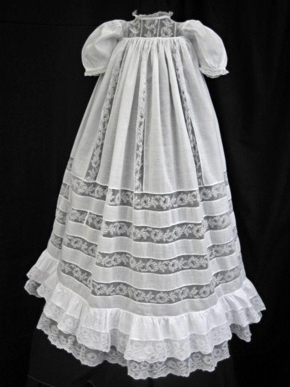 Antique Christening Robe Via Doylymolly On Ebay C