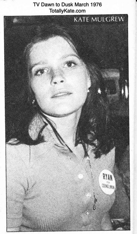Kate Mulgrew TV Dawn to Dusk March 1976 | Ryans Hope ...