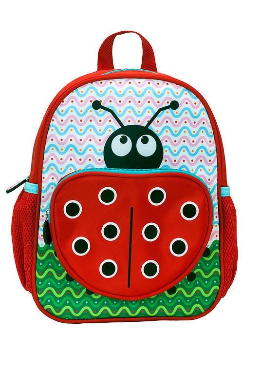 Rockland Kids Backpack Ladybug School Bag Cute Girls Animal ...