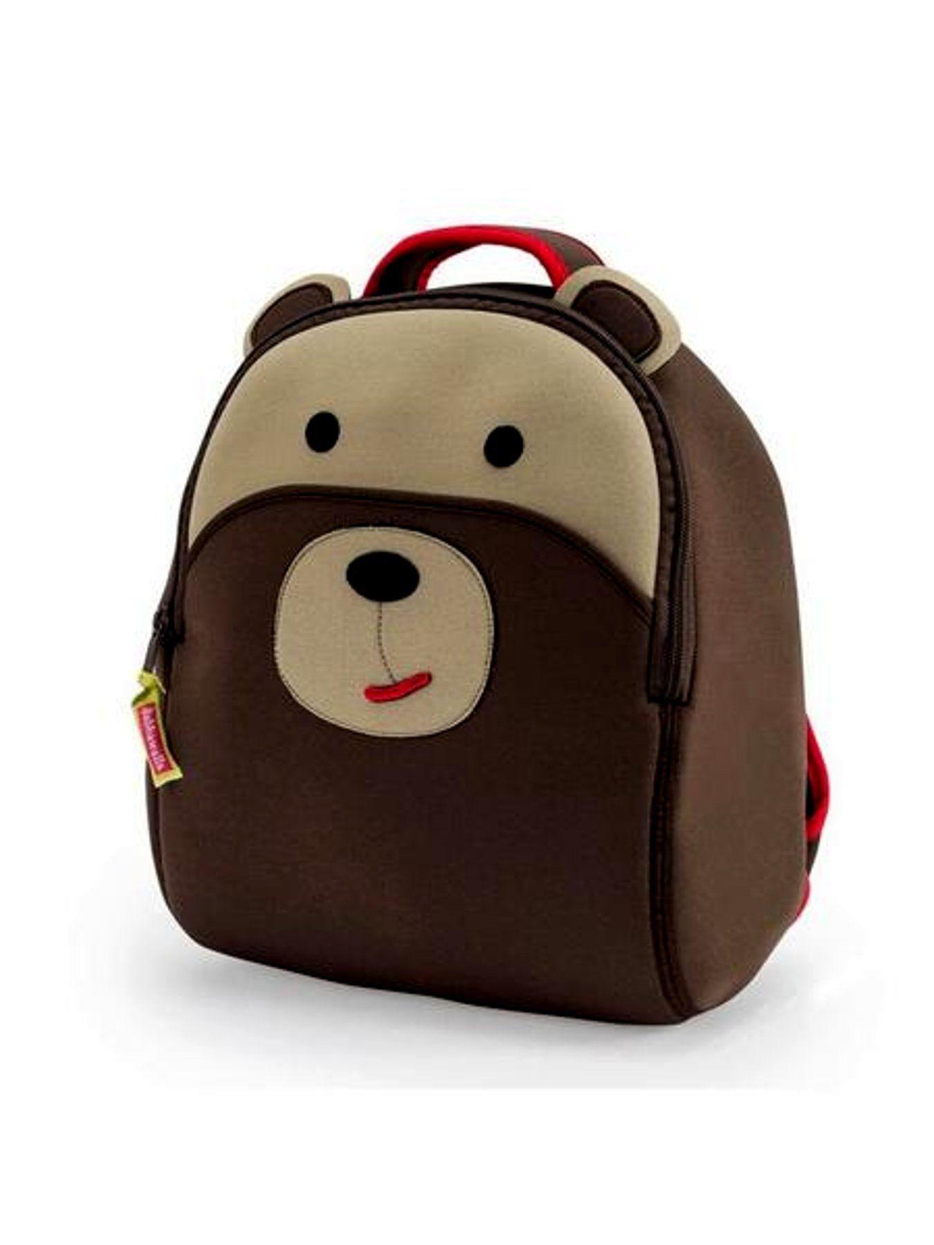 800cd85c1e98 Dabbawalla Kid s Backpacks - Brown Bear